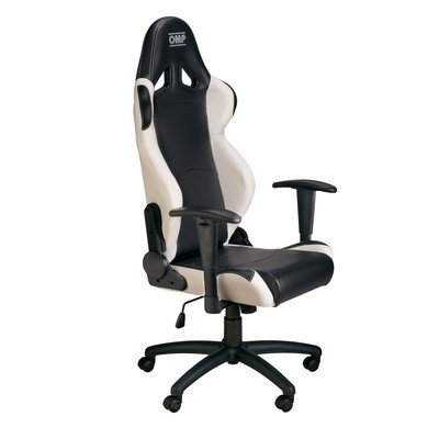 OMP OMPHA/777E/NW Asiento Negro/Blanco