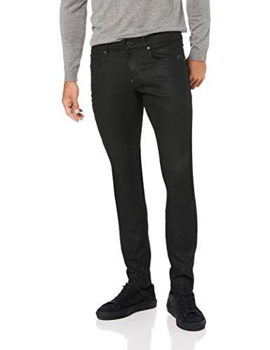 G-STAR RAW Herren Revend Skinny Jeans, Schwarz (3d dark aged 2967), 34W/32L - 32 Skinny Jeans