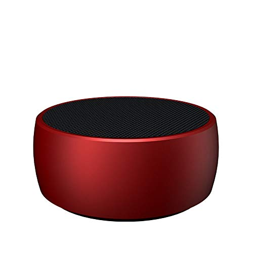 GJWBS Mini Drahtloser Tragbarer Subwoofer Bluetooth-Lautsprecher für den Außenbereich 5.0 Eingebautes Mikrofon, HD-Audio, verstärkter Bass, Freisprech- und TF-Kartensteckplatz, Stereo-Sound. (Mini-desktop-kanone Tasche)