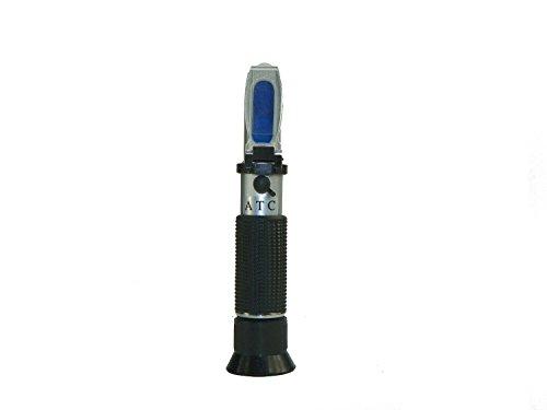 geartist (TM) gt113Brix refractómetro con compensación de temperatura automática cerveza vino CNC Frutas (0-32% Brix Escala)