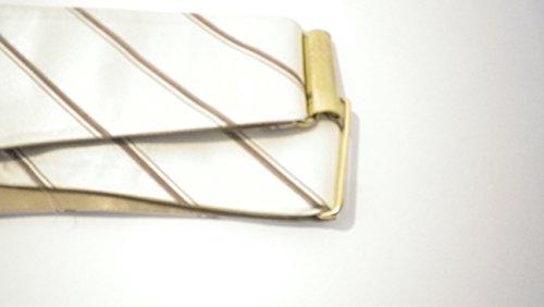 Yates & Co London Herren Kummerbund Elfenbein gebrochenes weiß Einheitsgröße