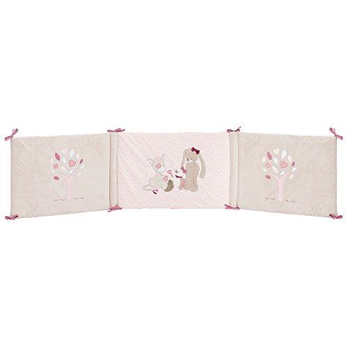 Babybett 70x140 cm und 60x120 cm, Mädchen, rosa - Nina, Jade und Lili (Petit Lili)