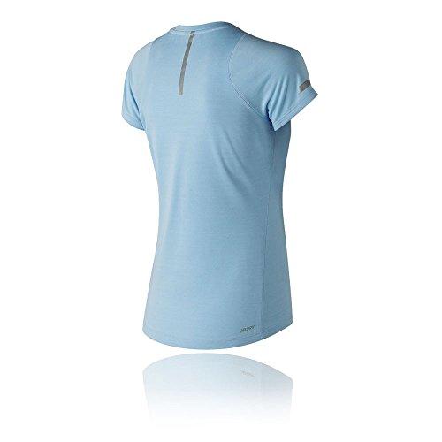 New Balance Seasonless Women's Course À Pied T-Shirt - SS18 blue