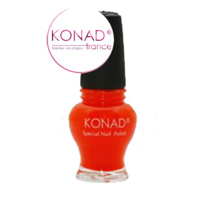 Vernis Stamping nail art Konad - Edition princess - Psychisme Orange 12ml