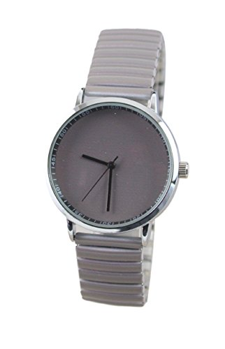 montre-femme-extensible-elastique-uni-gris-mode-ernest-paris-bcbg-girly