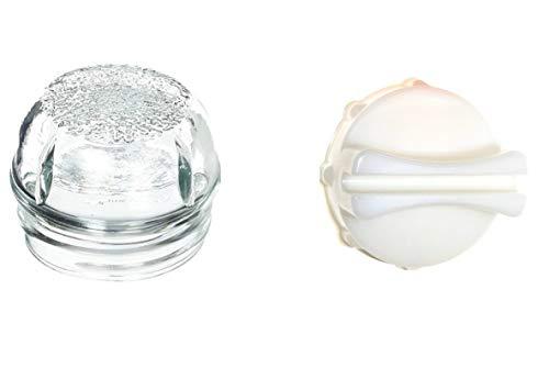 Find A - Herramienta de extracción de repuesto y cubierta de lente de cristal para horno Bosch Neff...
