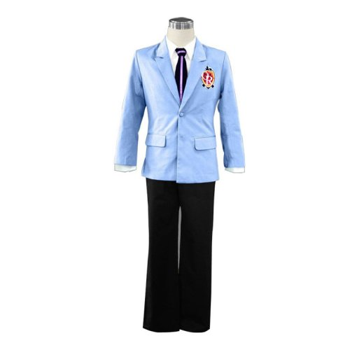 Kostüm Kid Club - Dream2Reality japanische Anime Ouran High School Host Club Cosplay Kostuem - Senior Maennchen Uniform Kid Size Small