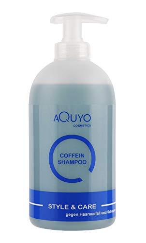 Style & Care Coffein Shampoo gegen Haarausfall, fettiges Haar und Schuppen | Haarpflege mit Zink und Biotin lindert Haarausfall und fördert das Haarwachstum | Haarshampoo bei Kopfhautjucken (500ml)