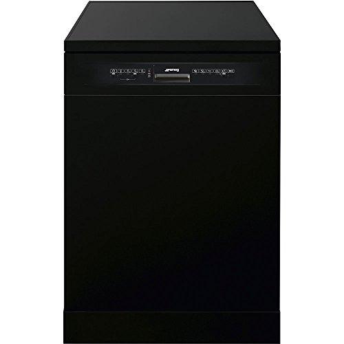 Smeg lvs222nit autonome 13places A + + Spülmaschine–Geschirrspülmaschinen (autonome, schwarz, Full Size (60cm), schwarz, Knöpfe,...
