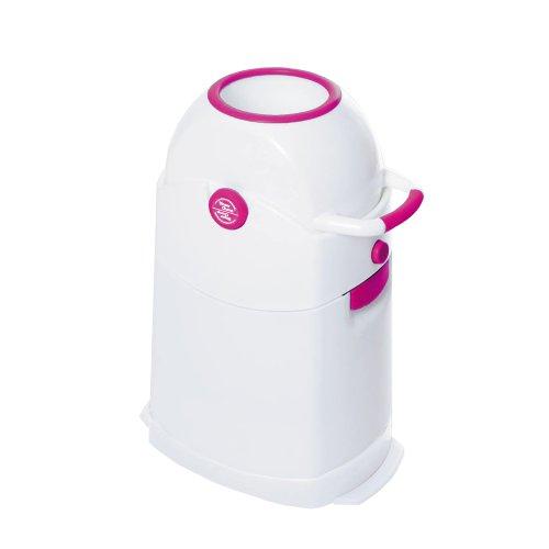 Geruchsdichter Windeleimer Diaper Champ regular magenta - für normale Müllbeutel