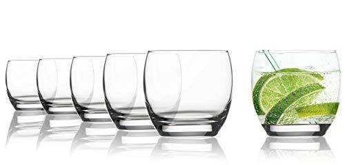 Vasos de agua Tivoli Toronto - 250 ml - Set de 6 - Vasos de alta calid