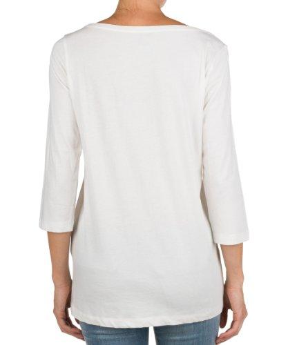 Replay Damen Langarmshirt W3381C.000.20994 Weiß (563)
