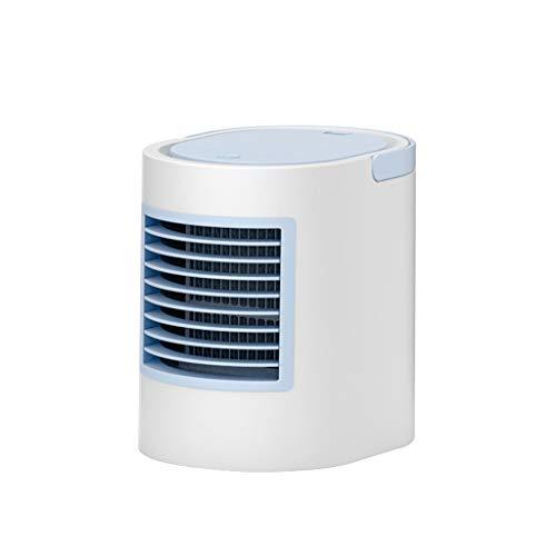 ung Klimagerät Ventilator Klimaanlage Wasser EIS Tank Ionisator Luftbefeuchter Luftkühler,Tragbare Mini-Klimaanlage Cool Cooling Für Schlafzimmer-Lüfter,Blau ()