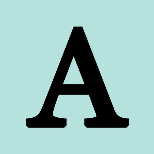 NINGAN Abalorios Charms Colgantes de Alfabeto Cuentas Plata de Ley 925 con...