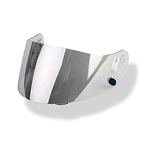 (RST SILVER MIRROR) HJC HJ-09 / HJ09 visor shield for IS-16, CL-16, CL-15, CL-SP, CS-R1, CS-R2, FS-15, AC-12, Kawasaki ZX, Kawasaki ZXSP and Joe RKT101 and RKT201