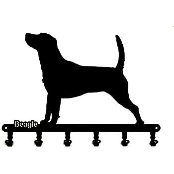 steelprint.de Schl/üsselbrett//Hakenleiste Yorkshire Terrier * Schl/üsselboard 6 Haken