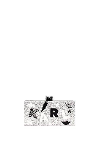 clutches-karl-lagerfeld-women-acrylic-silver-black-and-white-61kw3067white-silver-4x95x195-cm