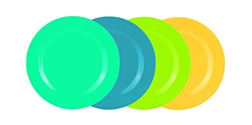 Zak! designs 2356-4410 Assiette, Ice Cool