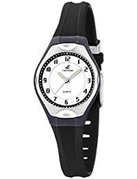 Calypso watches - K5163/J - Montre Mixte - Quartz Analogique - Bracelet Caoutchouc Noir