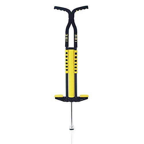 ISE Pogo Stick Double Barre Construction Solide Bâton Sauteur pour Les utilisateurs de 36kg à 72 kg