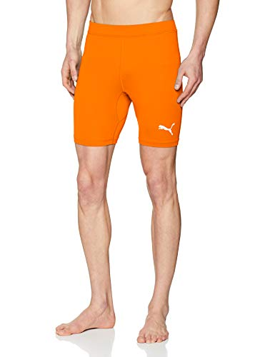 PUMA Erwachsene Liga Baselayer Short Tights Liga Baselayer, Orange (Golden Poppy), XL -