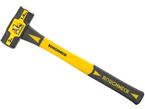 Roughneck 65624 Sledge Hammer 4lb F/glass Handle 16-inch
