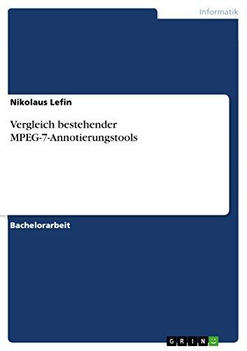Vergleich bestehender MPEG-7-Annotierungstools