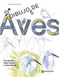 Dibujo De Aves (Aula de dibujo profesional) por Juan Varela Simó