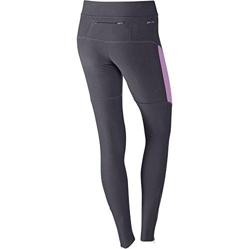 Nike Filam Collant de cours'à pied-Femme-Culotte de sport femme-Bas coutures bord à bord Violet - Violet/magenta