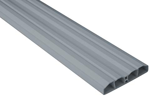 Zaunlatten Sparpaket PZL-10 | widerstandsfähiges Hart-PVC | Kunststoffzaun | Balkonbretter | pflegeleicht | grau modern | 80 x 16 mm | Hexim | 20 Meter