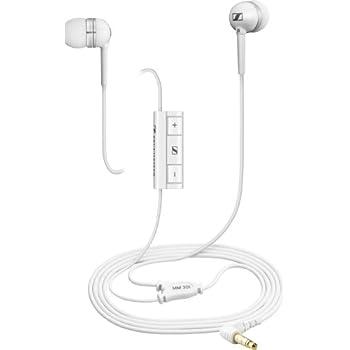 Sennheiser MM30i In-Ear Headset for iPhone/iPad/iPod - White