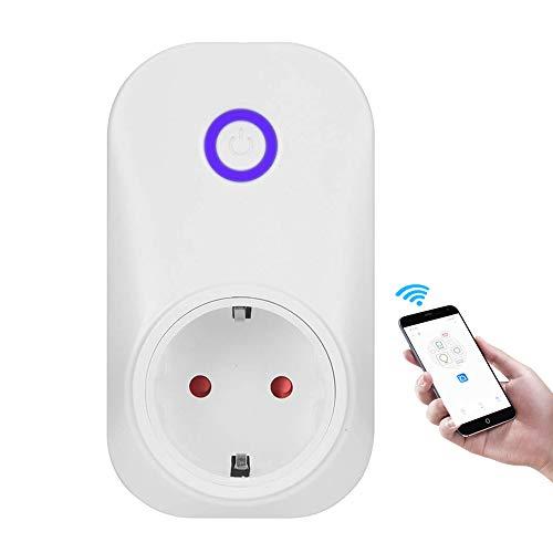 Owfeel Smart Steckdose Intelligente Plug WIFI Stecker fernbedienbar Timer Kompatibel mit Alexa und Google Home