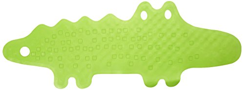 """IKEA Badewannenmatte """"Patrull"""" Wanneneinlage Krokodil-Badematte für Kinder und Babies aus NATURGUMMI"""