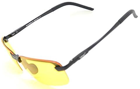 LZXC Nachtsicht-Polarized Fahren Sonnenbrillen Outdoor Sport Eyewear Unzerbrechlich Ultra-Light Einstellbar