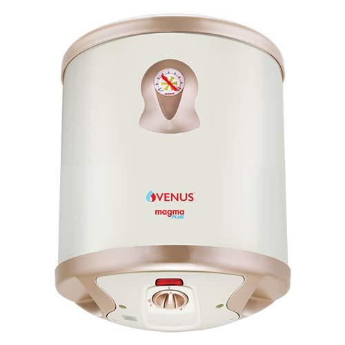Venus Magma Plus 10GV 2000-Watt Water Heater (010 GV Ivory, BEE Star Rating - 5 Stars)