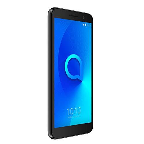 Alcatel 1 - Smartphone de 5' (Quad-Core 1.28 MT6739, RAM de 1 GB, memoria de 8 GB, cámara de 5 MP, Android 8.0 GO),...