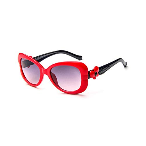 Vikimen Sportbrillen, Angeln Golfbrille,NEW Lovely Kids Sunglasses Brand Baby Girls Sunglass Children Sun Glasses UV400 Goggles Eyewear Clear Pink Red Sunglass 57-8