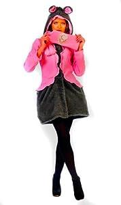Limit Sport - Disfraz abrigo y bufanda de ratita para adultos, talla S (MA682)
