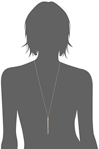 COMPLETEDWORKS Collier avec Pendentif Acier Inoxydable Femme 70cm argent