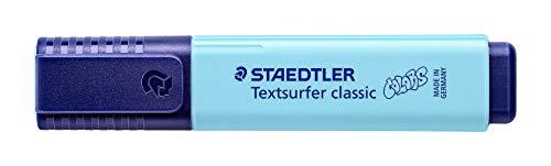 STAEDTLER Textsurfer classic 364, Pastell Vintage Textmarker, hohe Qualität Made in Germany, mit...