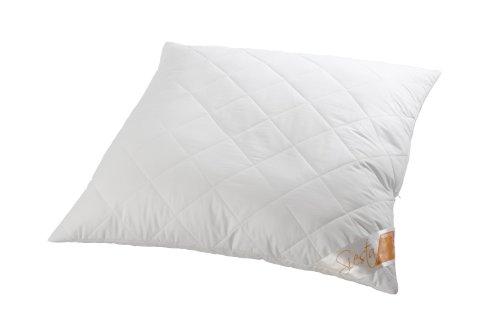 Böhmerwald Faser-Kopfkissen, 100% Polyester-Faserbällchen weiß 70 x 90cm (Polyester Kopfkissen)