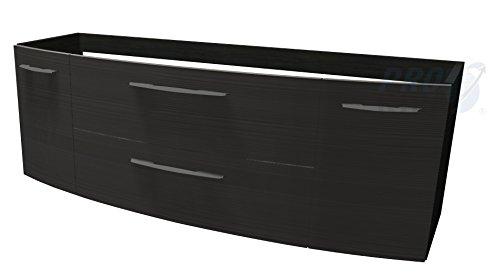 PELIPAL Cassca Waschtischunterschrank inkl. LED Belechtung / CS-WTUSLB 06 / Comfort N / B: 140 cm