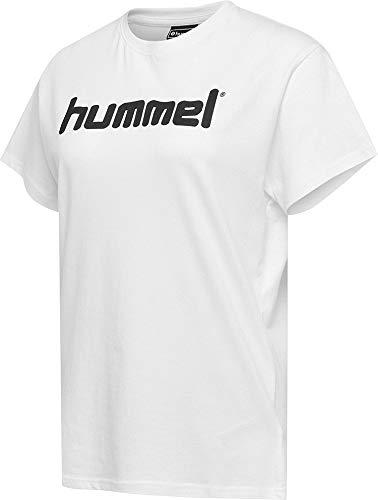 hummel Damen HMLGO Cotton Logo T-Shirt Woman S/S