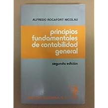 PRINCIPIOS FUNDAMENTALES DE LA CONTABILIDAD GENERAL