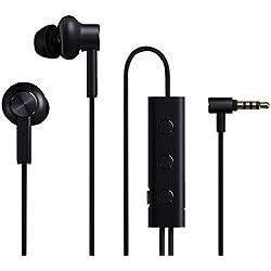 Auriculares con cancelación de Ruido Xiaomi Active Auriculares híbridos con micrófono Mi ANC (Color: Negro)