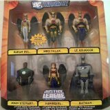 DC Universe Infinite Heroes Crisis Exclusive Action Figure 6-Pack ATTACK FROM THANGAR ( Paran Dul, Hro Talak, Lt. Kragger, John Stewart, Hawkgirl, & Batman )