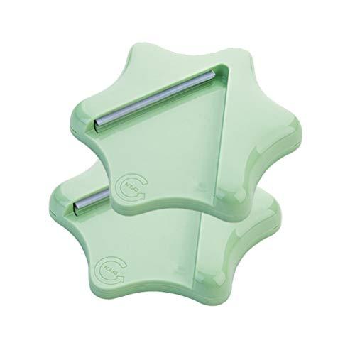 Msql apriscatole manuale, adatto per diverse coperture, può essere collegato al mobiletto, sotto il tavolo (una coppia),green