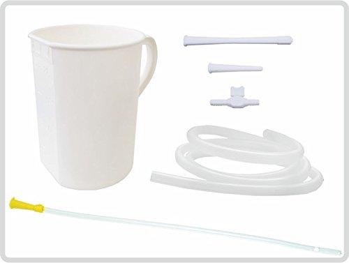 Irrigator-Set 2 Liter, Einlaufgerät für Darm und Unterleib mit inkl. flexibler Einlaufhilfe