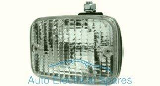 Classic/kit auto universale rettangolare lampada Reverse/unità