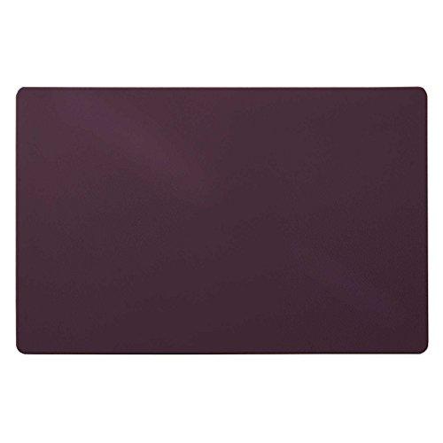Preisvergleich Produktbild Trendige Schreibtischunterlage   Lila   abwischbar   PVC-frei   65 x 50 cm